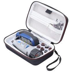 Embalaje OEM Logo personalizado portátil impermeable Herramienta electrónica al por mayor de viajes Bolsa de EVA Maletín de transporte rígido con asa