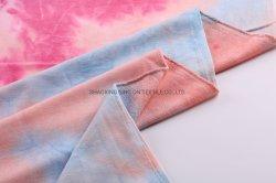 タイによって染められる編む衣服ファブリックが付いている多レーヨンスパンテリー
