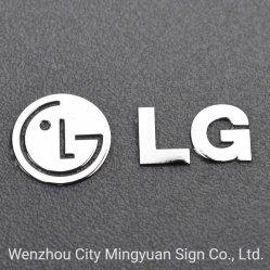 Дружественность к окружающей среде Electroform металлического никеля наклеек с логотипами с 3м клей (ГПВ)