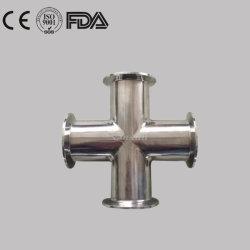 衛生ステンレス鋼の食品加工の衛生学DINによって溶接される十字