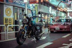 200cc/250cc Retro Gas carreras de motos con luces LED/frenos ABS (MC3).