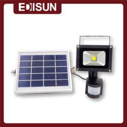 50W de iluminación solar inteligente con un panel solar