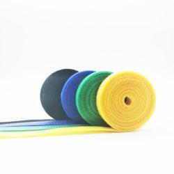 Doppelte Seiten-Nylonhaken und Schleifen-Band für Draht-sauberes Kabel-Management