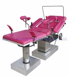 Soem-ODM-Betriebstisch-gynäkologischer Tisch-hydraulischer Krankenhaus-Obstetric Anlieferungs-Tisch