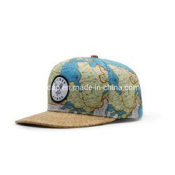 ホットセール観光キャップカスタムウーブンラベルキャップの写真 SnapBack Cap を印刷します
