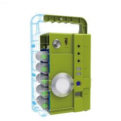 O LED de energia portátil de armazenamento de energia da iluminação de energia solar de alimentação de energia