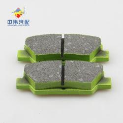 Rupture de pièces de rechange Auto Plaquettes de frein à disque Semi-Metal pour Zwd703