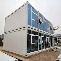 40FT China Flachgehäuse-vorfabrizierte Behälter-Haus-Büro-Luxuxkabine