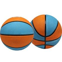 Canales profundos Rubber Custom Printed Size 7 pelota de baloncesto deportiva