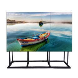 إطار خارجي شديد الضيق داخلي سلس من China Factory بحجم 55 65 بوصة فيديو عرض LCD متعدد الشاشات بدقة 4K 2 × 3 × 3 كاملة الألوان الجدار