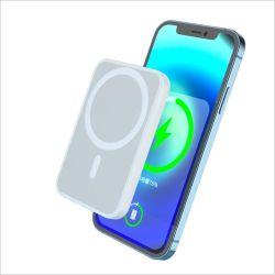 شاحن MagSafe لجهاز iPhone 12 / Samsung / Huawei سريع الهواتف المحمولة للشحن اللاسلكي