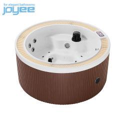 Forme ronde Joyee Heat-Resistant un bain à remous Garden Spa à l'étape/couvercle SPA extérieur