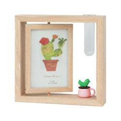 حامل شاشة قابل للضبط لأرفف إطارات الصور الخشبية