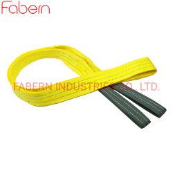 Для тяжелого режима работы подъемный строп 3t 3m полиэстер лямке стропы подъемного ремня