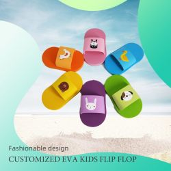 Comercio al por mayor Sandalias Playa Imprimir zapatilla Chanclas EVA Kid