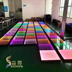 무선 자석 DMX 통제 LED 댄스 플로워를 점화하는 디스코 단계 사건을 설치하는 1 초