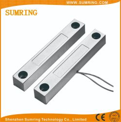 Com interruptor de contato magnético normalmente fechado a porta aberta do alarme do sensor
