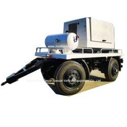 Personalizzazione dei rimorchi dei generatori mobili (Generatori diesel trainabili con barra di traino, potenza rimorchio 20KW-200KW)