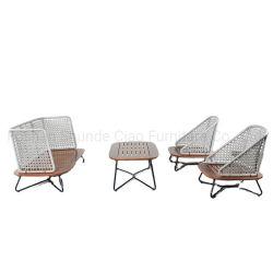 Accueil Mobilier moderne de l'hôtel Villa intérieur extérieur jardin canapé de corde de loisirs