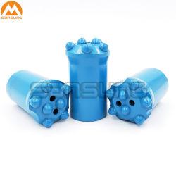 Bouton d'exploitation minière de maçonnerie foret conique pour le trou 28-45mm