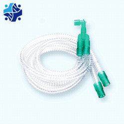 Le carton ondulé/anesthésie Smoothbore extensible/circuit de respiration, montage sur tube de rallonge du cathéter
