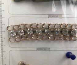 단화 부속품 사슬, 모조 다이아몬드 다이아몬드와 더불어 부대 부속품 사슬,