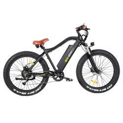 Высокая мощность 750 Вт 48В полной приостановки горный велосипед с электроприводом