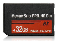 32-ГБ карта памяти Memory Stick PRO-HG Duo™ (MS-HX) для Sony PSP /камеры