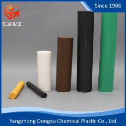 Красочные инженерных пластмассовый стержень из тефлона