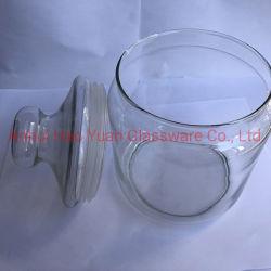 De Kruik van de Apotheker van het Glas van de Opslag van de metselaar met het Deksel van het Glas
