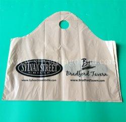 新しいデザイン方法アーチのハンドルが付いているプラスチックショッピング・バッグ