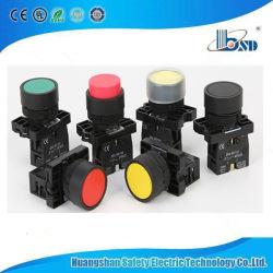 Xb2-EA42 красный цвет пластика круглой кнопки с подсветкой