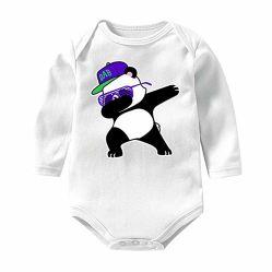 Niño bebé niñas niños blancos de algodón de manga larga Bodysuits Inerlock prendas de vestir
