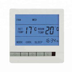 Commutateur de température de contrôle à distance numérique Fancoil Contrôleur de thermostat
