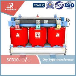 Série SC 50kVA petite capacité pleine bobinage de cuivre 10kv transformateur de type sec