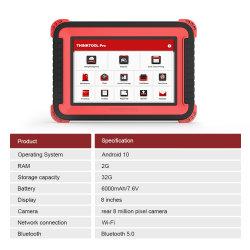 Thinkcar Thinktool PRO Full System OBD2 Diagnostic Tool con 28+Special Funzioni - prova di codifica/attuazione ECU - Pk - Avvio X431 V.