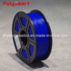 3D PLA de filament en plastique ABS 1kg 1,75 mm pour Phototyping