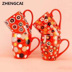 Керамические кружки с цветными стеклами с табличкой для оптовых продаж