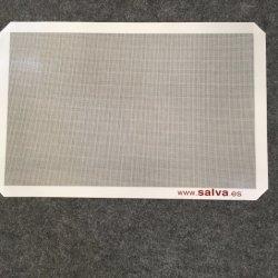 La FDA Food Grade LFGB Silpat Non-Stick de gros de tapis de cuisson en fibre de verre de silicone