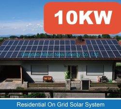 لوحة شمسية واحدة بنظام الطاقة الشمسية بقدرة 2000 واط/ساعة بقدرة 5 كيلوواط نظام الطاقة الشمسية المنزلية المحمولة بقدرة 10000 واط مع شدادة الشبكة بقوة 1000 واط مولدات الطاقة