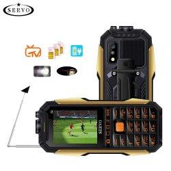 """[إكس7] [موبيل فون] 3 [سم] بطاقات هوائي متناظر تلفزيون صوت يغيّر ليزر مصباح كهربائيّ قوة بنك لوحة مفاتيح [روسّين] 2.4 """" [سلّ فون]"""