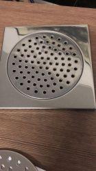 스테인리스 지면 배수구, 목욕탕 폐기 밸브, 지면 배수구
