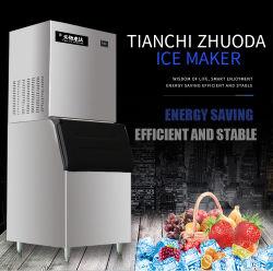 Labor Schneeflocke Eismaschine 20kg/24h Tragbare automatische Industrieblock Commercial Maschine Desktop Square Bullet Ice Cube Maker