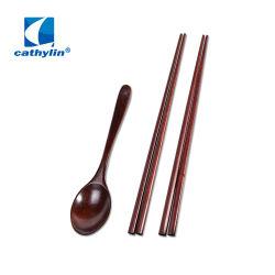 2019 Home Cadeau Houten Bamboe Spoon Chopsticks Cutlery Set