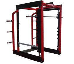 Equipamento de fitness, ginásio Placa Comercial Carregado Smith Máquina de meio bastidor