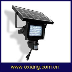 HD1080 Luz LED PIR Solar Monitor de câmera de segurança