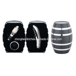 Eiche Barrel Shaped Wine Gift Set (608012-B)
