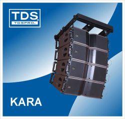 الخط الصغير لنظام مصفوفة الخطوط المزدوجة Kara مقاس 8 بوصات PA مكبر صوت صفيف