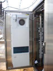 DC Intercambiador de calor para Telecom Gabinete Outdoor