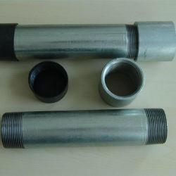 BS1387 оцинкованных резьбу трубы из углеродистой стали для пожарных разбрызгивающие